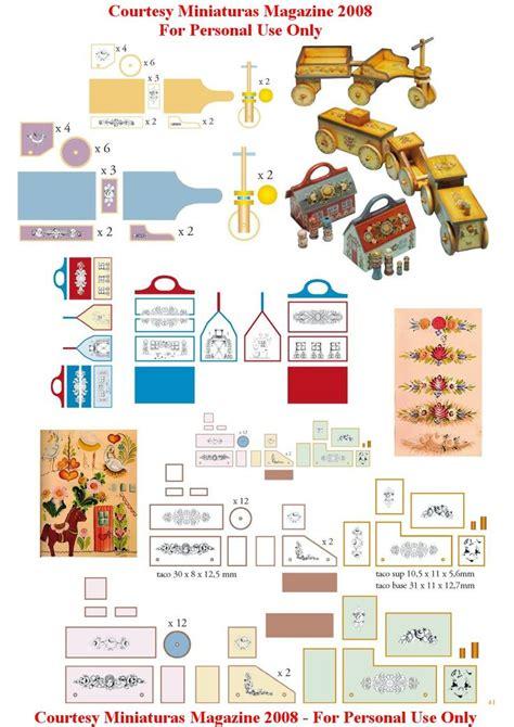perfumery dollhouse printable boxes children horses