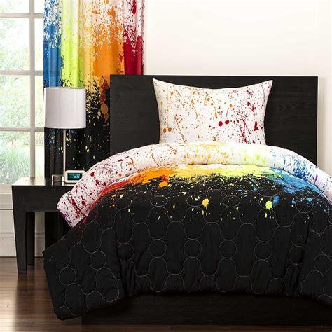 crayola bedding crayola cosmic burst comforter set twin size blanket