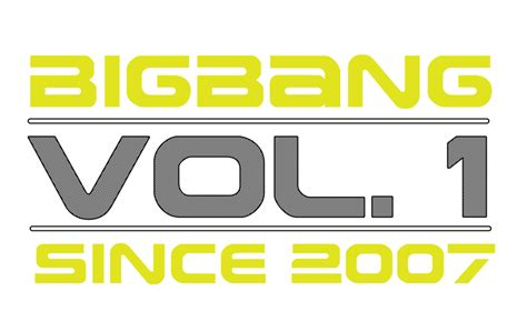 Moment By Moment Vol 1 1 Bigbang Vol 1 Since 2007 Transparent Logo By Momopychan