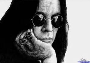 how to draw ozzy osbourne ozzy osbourne step by step