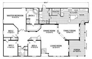 Palm Harbor Mobile Home Floor Plans Americana Ccw467a7 Home Floor Plan Manufactured And Or