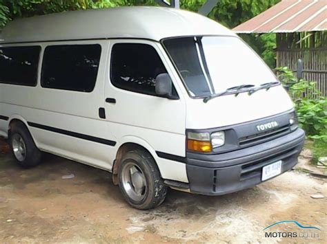 toyota hiace toyota hiace 1992 motors co th