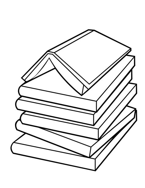 Book Color Page book coloring pages to and print for free