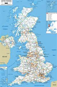 map uk maps of the united kingdom detailed map of great britain in tourist map of great
