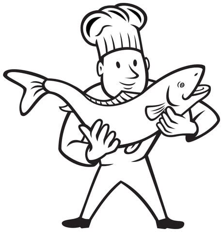 cooked fish coloring page holding the hands laa tinky winky po and dipsy coloring