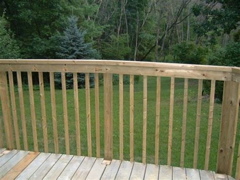 installing   deck railing thumb  hammer