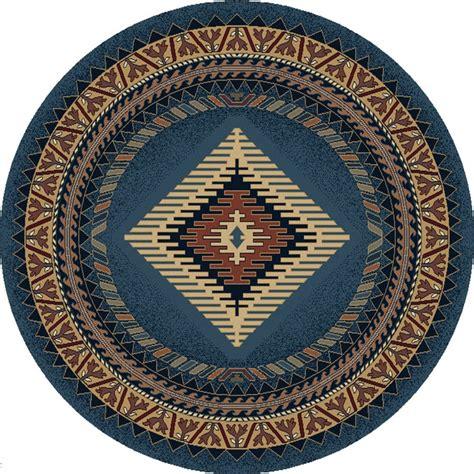 blue southwestern apache style 8 area rug ebay