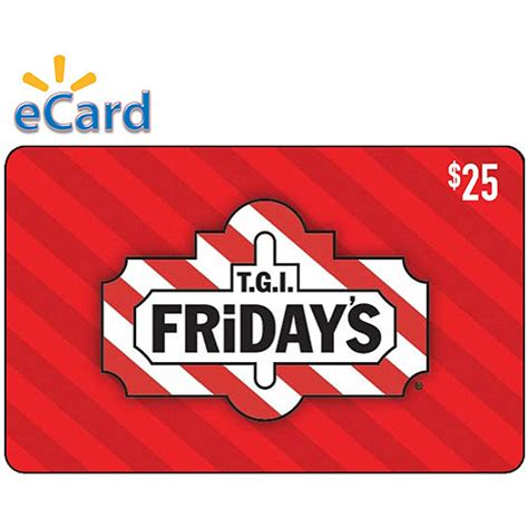How To Send A Walmart E Gift Card To Someone - t g i friday s 25 egift card email delivery walmart com