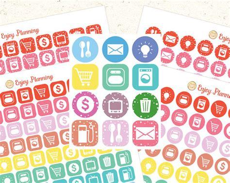 free printable planner icons icon printable planner stickers printable icons planner