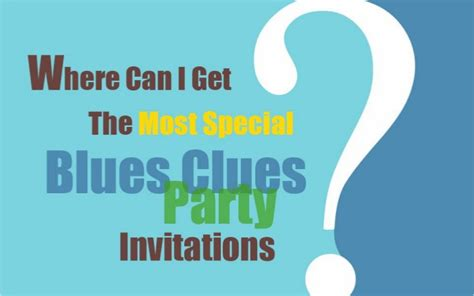 Standford Mba Invitations by Blues Clues Birthday Invites