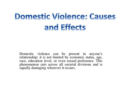 domestic violence dissertation effect of domestic violence on family essay