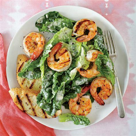 recipe for caesar salad grilled shrimp caesar salad recipe myrecipes