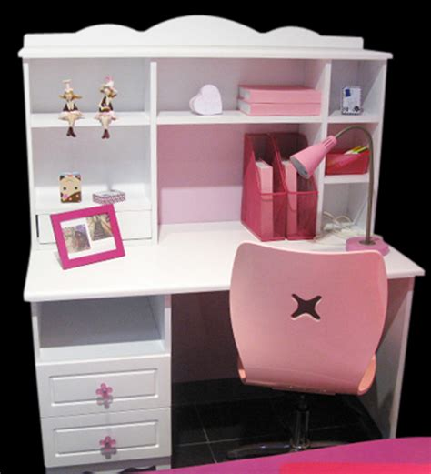 study table white kinderhomes white and pink study table by kinderhomes