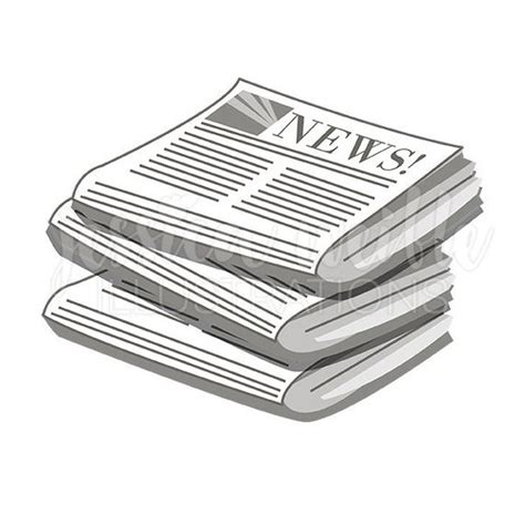 clipart newspaper stack of newspapers cute digital clipart newspaper clip art
