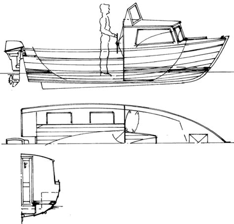 small fishing boat drawing small fishing boat plans