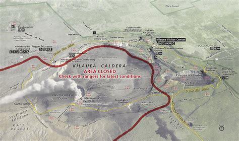 volcanoes in hawaii map file nps hawaii volcanoes kilauea map jpg wikimedia commons