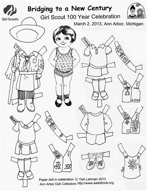 gir paperdoll colouring pages