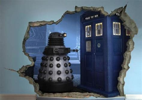 doctor who wall mural 3d murals barnorama