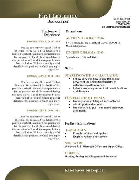 Resume Builder Edmonton Resume Builder Free Template Resume Builder Free Template
