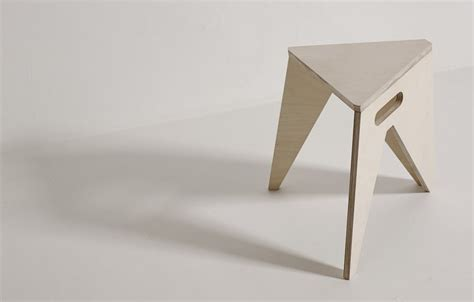 Simple Stool by Simple Stool That Can Save Your Storage Space Slim