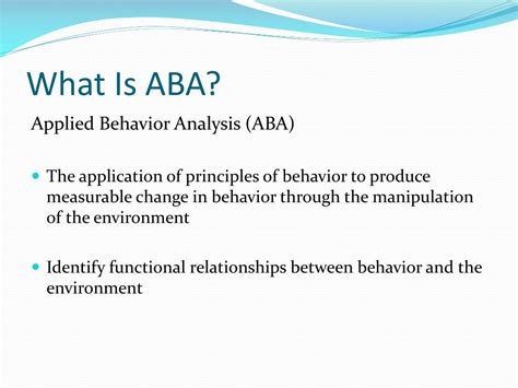 the principles of learning and behavior ppt aba and discrete trial teaching powerpoint