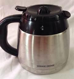 black decker coffee pot black decker 10 cup coffee carafe stainless ebay