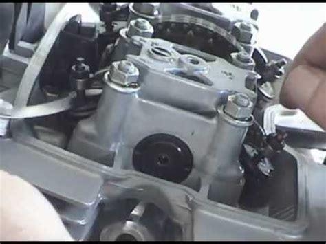 honda rebel  valve adjustment youtube