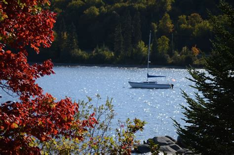 Cabins At Lopstick Pittsburg Nh by Connecticut Lake In September Near The Cabins At