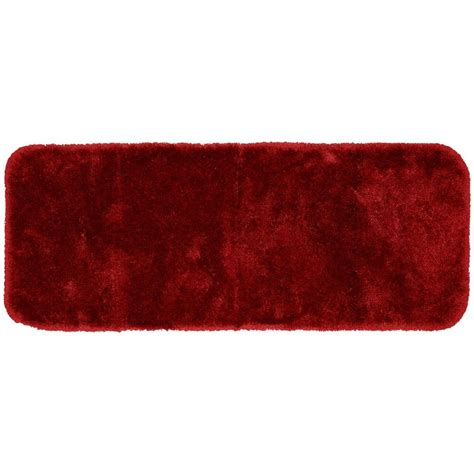 red bathroom rug garland rug finest luxury chili pepper red 22 in x 60 in