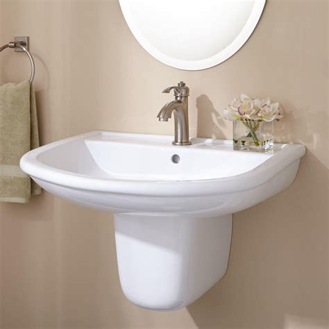 wall mount pedestal sink burgess wall mount semi pedestal sink office