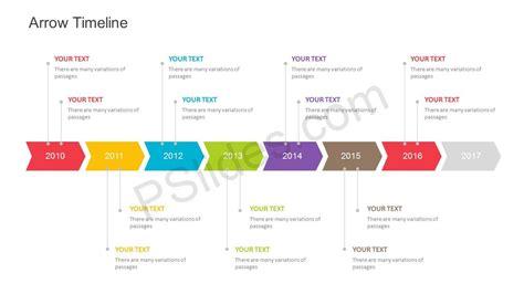 Free Arrow Timeline Powerpoint Template Template Powerpoint Timeline