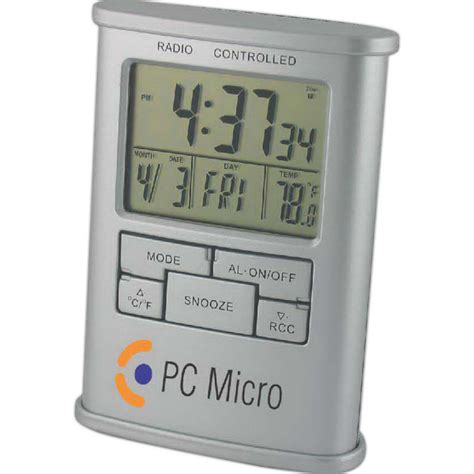 Digital Desk Clock by Custom Atomic Digital Desk Clock Usimprints