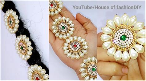 How To Make Hair Accessories At Home Easy by Easy Everyday Hairstyle For Medium Hair