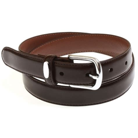 boys brown belt in high quality italian leather cachet