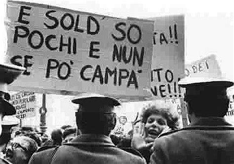 gabbie salariali 1968 1972 i governo rumor