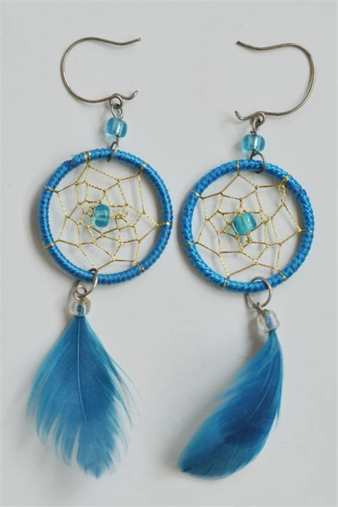 How to make dreamcatcher earrings ? DIY is FUN