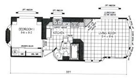 park model travel trailer floor plans park models clayton marlette svr12341d blue diamond