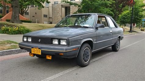 1983 renault alliance motor trend coty edition 1983 renault alliance
