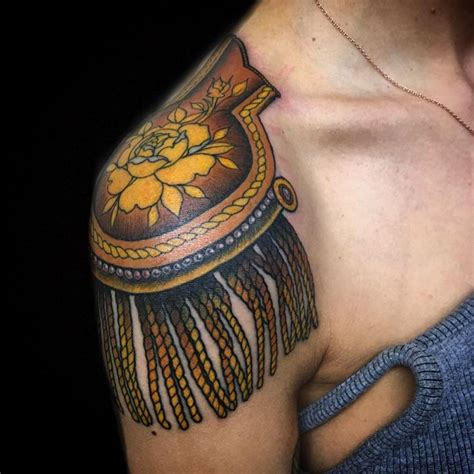 epaulette tattoo 21 best epaulette images on