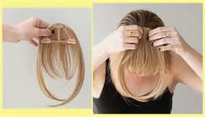 bangs clip for thin hair clip in hair extensions tips self self