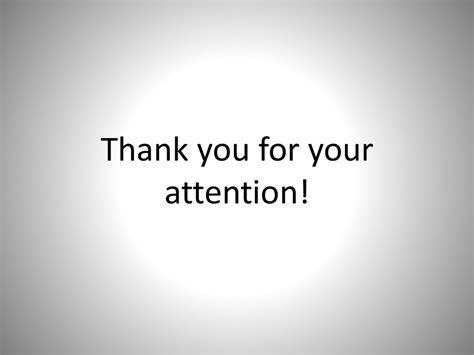 presentation thank you for your attention www pixshark