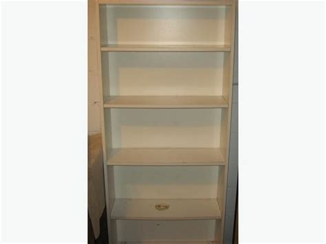 shelf bookcase about 6 high 5 shelves central