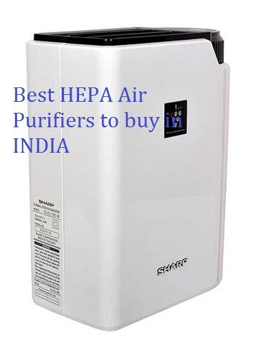 hepa air purifiers  buy   india  air