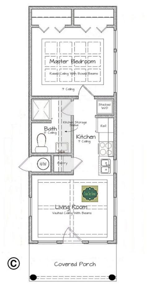tiny texas houses floor plans plan 408