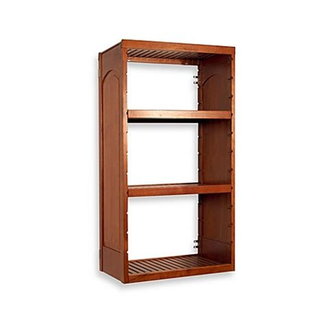 Buy Wood Closet Shelving From Bed Bath Beyond