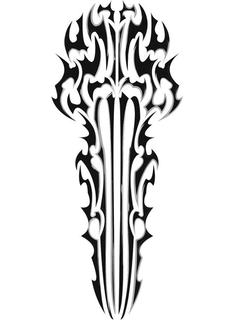 tribal sword by argent88 on deviantart