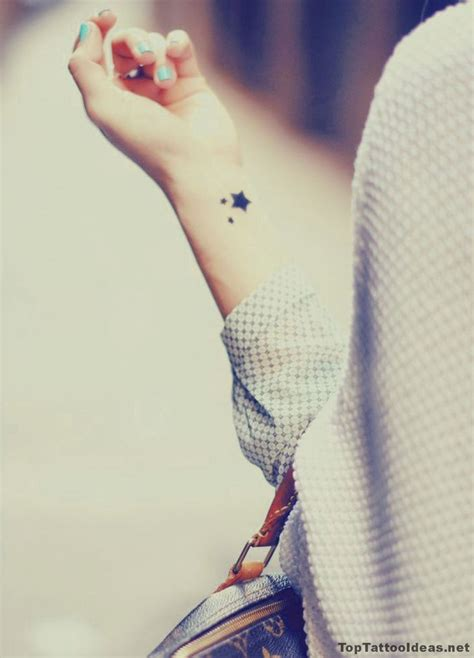 star wrist tattoos avoid 1000 ideas about wrist tattoos on