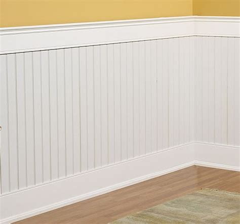Bathroom Beadboard Ideas by Beadboard Wainscoting Kit 8x4