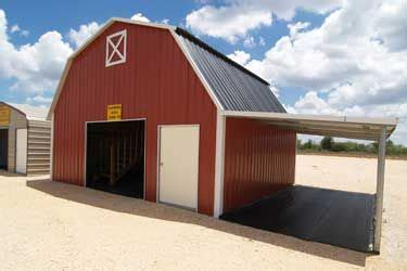 red gambrel barn  lean  scandinavian design   gambrel barn barn storage gambrel