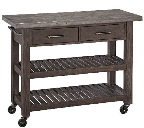 outdoor kitchen cart home styles concrete chic indoor outdoor kitchen cart
